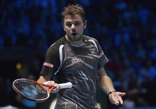 Stanislas Wawrinka ATP World Tour Finals