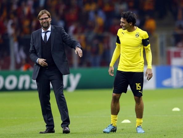 Jurgen Klopp Mats Hummels Borussia Dortmund