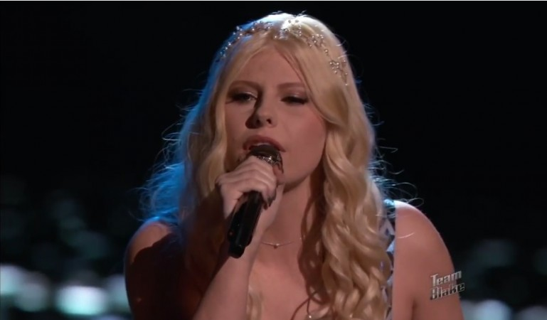 "Jessie Pitts performs ""Gravity"" by Sara Bareilles on ""The Voice"" USA Season 7"