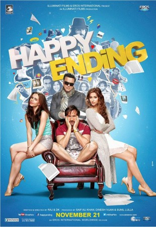 'Happy Ending' Movie Review: Saif Ali Khan, Govinda, Ilean Impress viewers
