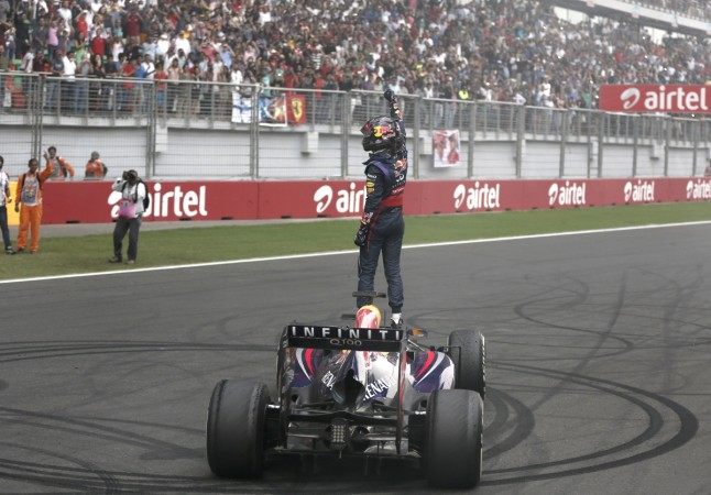 Sebastian Vettel, Indian Grand Prix