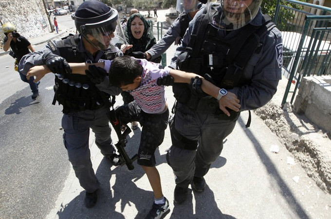 Reports have found that some 10,000 Palestinian children have been detained and subjected to torture by Israeli army.