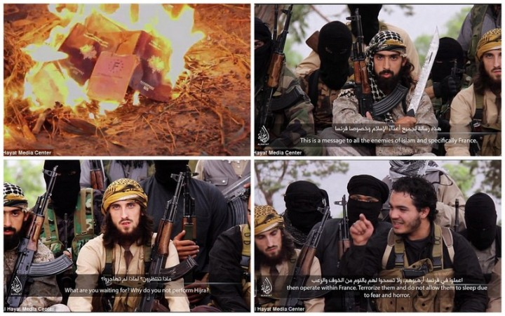 French ISIS fighters in a new video has urged Westerns to poison the food and water of the local civilians as act of jihad.