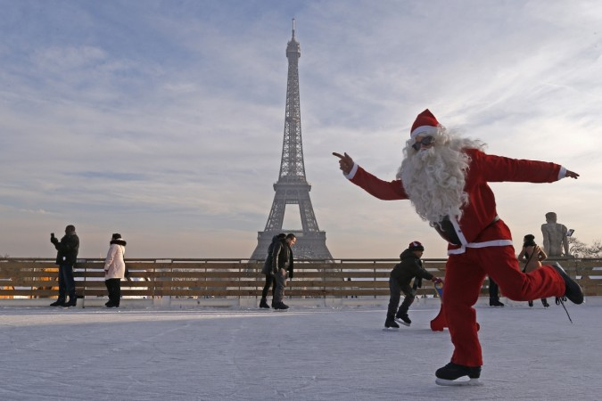 Father Christmas getting slimmer, healthier