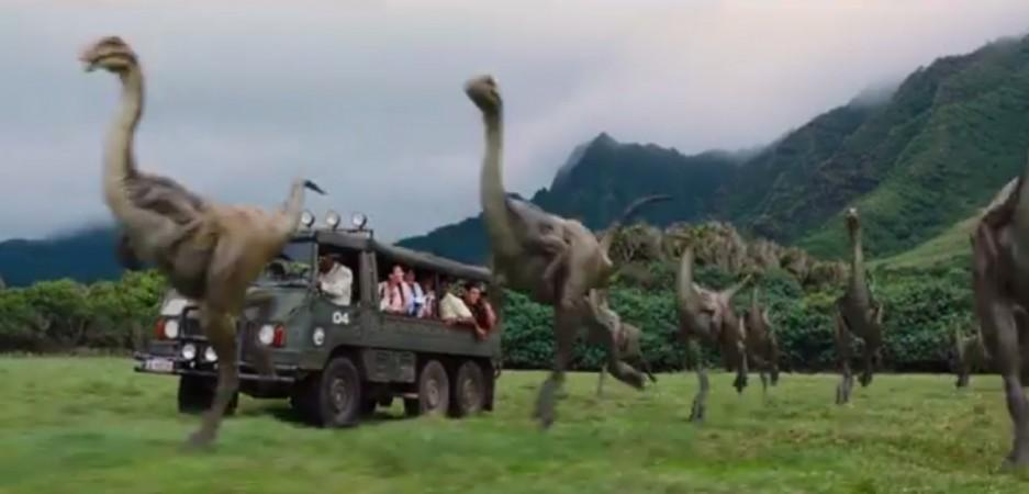 Jurassic World teaser release