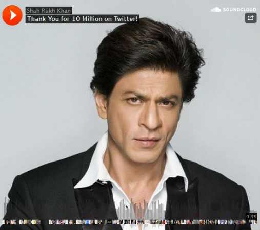Shah Rukh Khan Thanks 10 Million Followers on Twitter; Promises to Start Voice Blog Soon