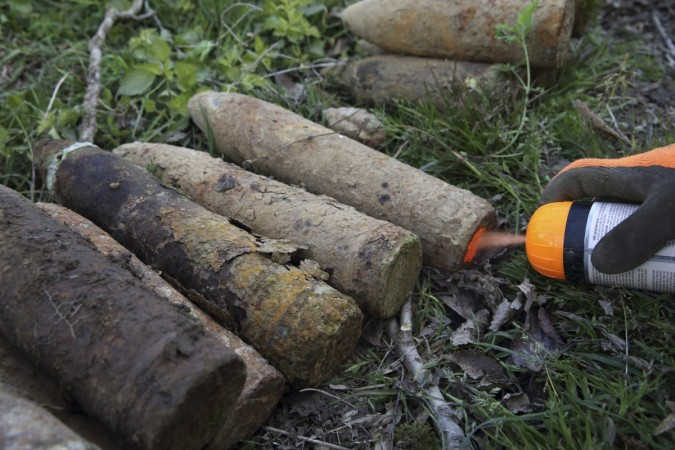 World War II bomb found in France