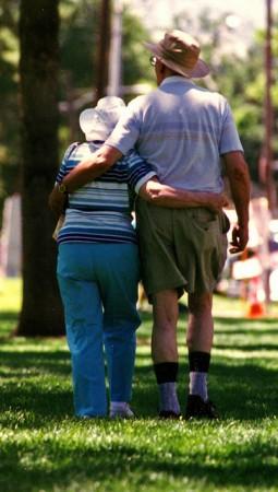 old couple, romance