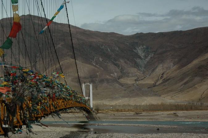 Yarlung Zangbo River, Tibet China