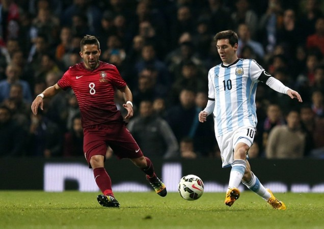 Joao Moutinho Portugal Lionel Messi Argentina