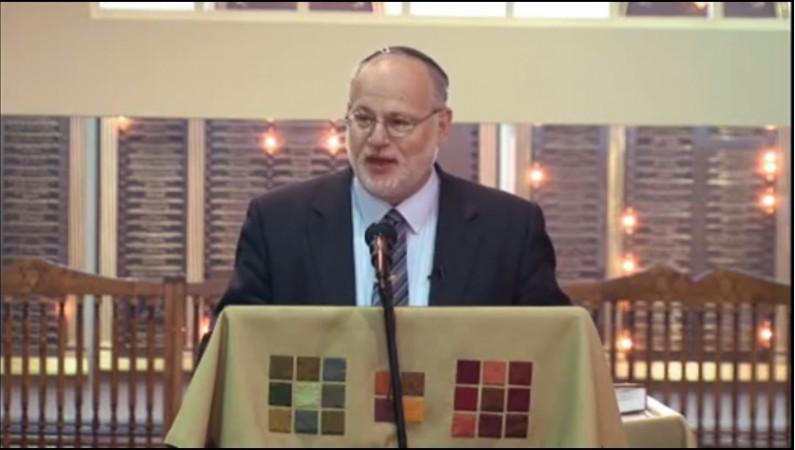Rabbi Steven Pruzansky of Congregation Bnai Yeshurun in Teaneck