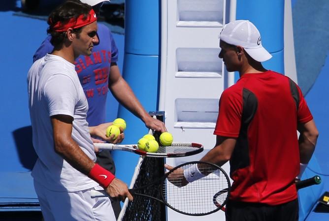 Roger Federer, Lleyton Hewitt