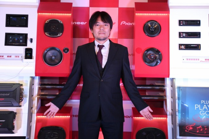 Pioneer introduces an array of in-car audio products