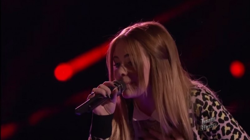 "Reagan James performing ""I'm Like a Bird"" by Nelly Furtado on ""The Voice"" Season 7"