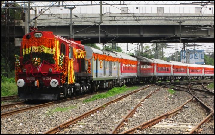 Train inauguration