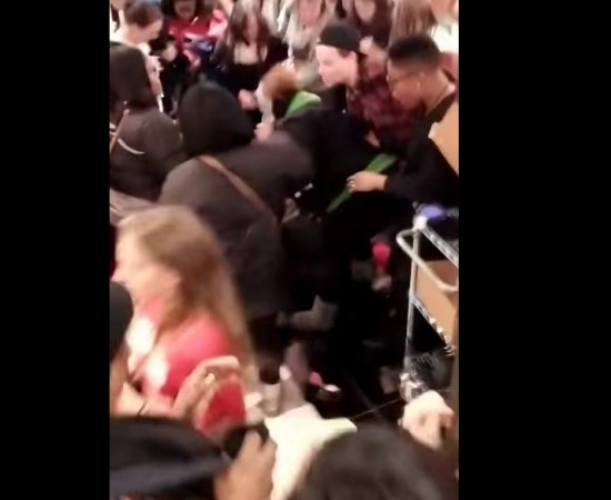 Watch viral YouTube video of women fighting over underwear and lingerie in Victoria's Secret store during Black Friday 2014 Shopping craze.