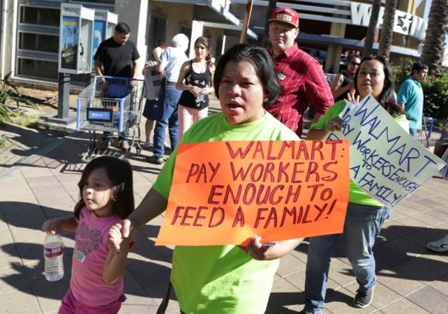 Walmart protests