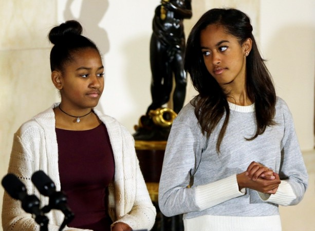 Malia Obama And Conservative Reporter Lucian Wintrich Had A Fight
