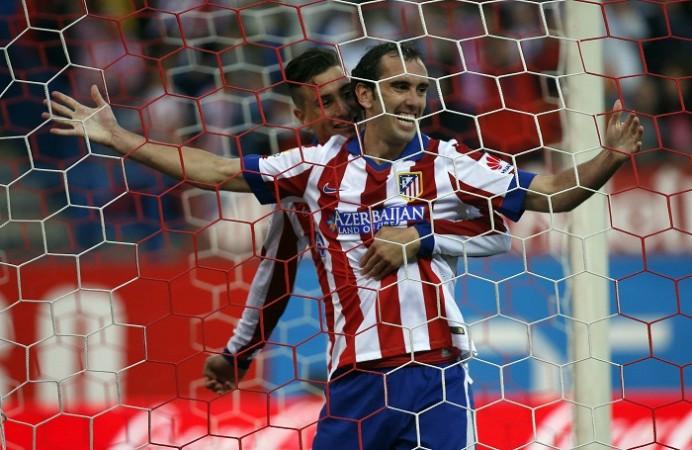 Diego Godin Raul Jimenez Atletico Madrid