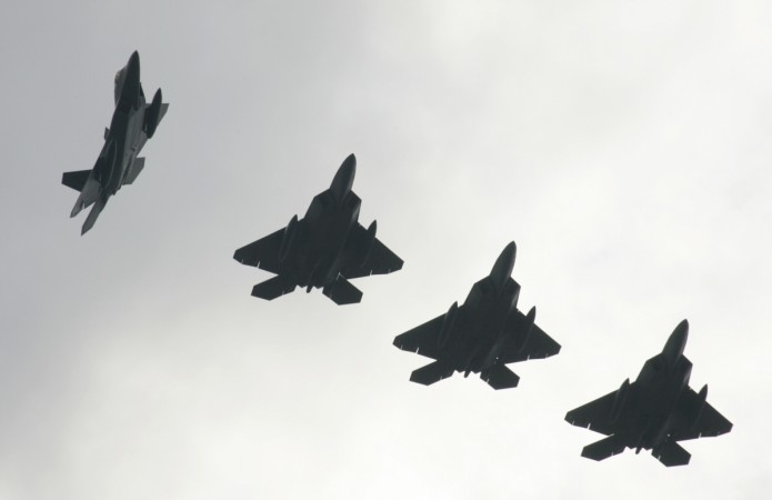 The US-Japan 'Keen Sword' exercises involving fifth-generation fighters F-22A and F-35A was a warning to China and Russia.