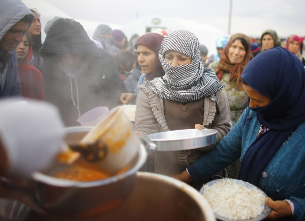 UN's World Food Programme is out of money to feed Syrian refugees