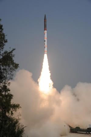 Agni-IV ballistic missile