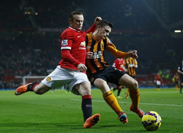 Wayne Rooney Manchester United Andrew Robertson Hull City