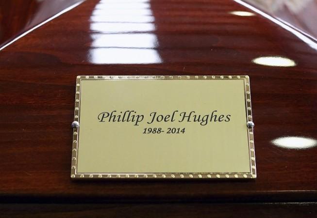 Phil Hughes Funeral Casket
