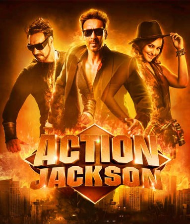 Ajay Devgn and Sonakshi Sinha in Action Jackson