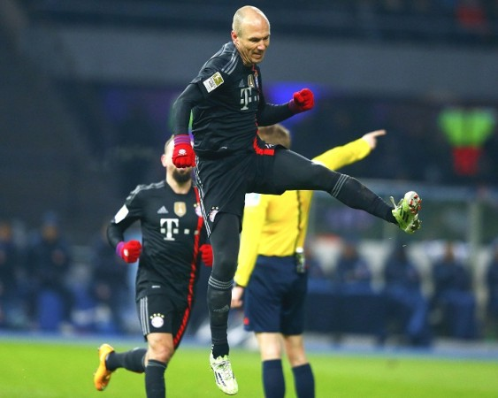 Arjen Robben Bayern Munich Franck Ribery