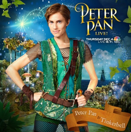 Allison Williams Stars in Peter Pan Live
