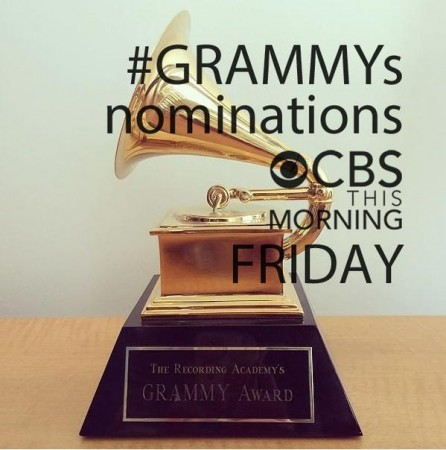Grammys 2015 Nominations