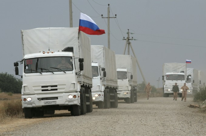 As West speculates that Russia could target Moldova next after annexing Crimea, Moscow has sent 60 humanitarian aid convoy trucks to Transnistria.