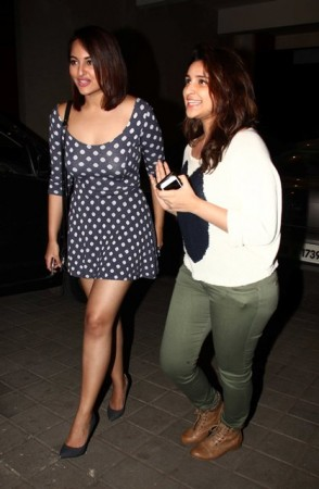 Sonakshi Sinha and Parineeti Chopra