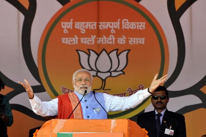 Narendra Modi election rally