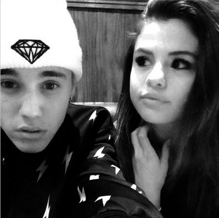 justin Beiber and Selena Gomez