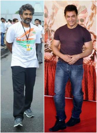 Aamir Khan and SS Rajamouli