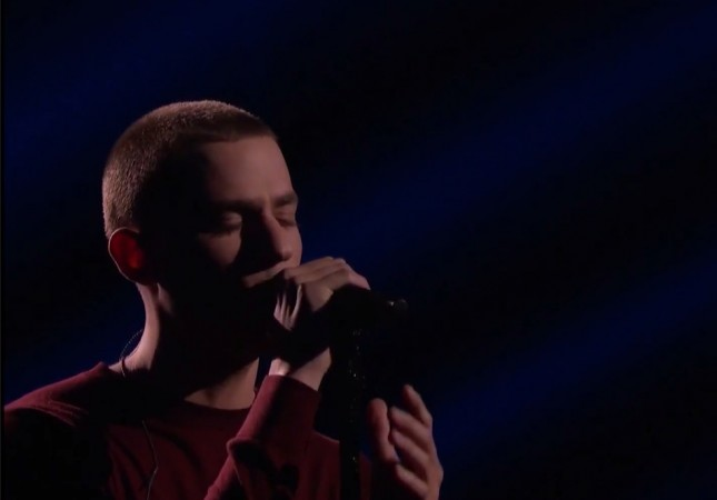 "Chris Jamison performs Bruno Mars' ""When I Was Your Man"" on ""The Voice"" Season 7"