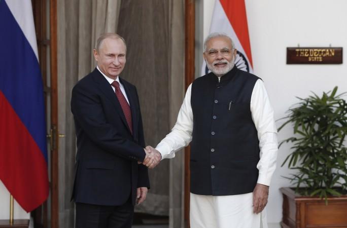 Putin, Modi