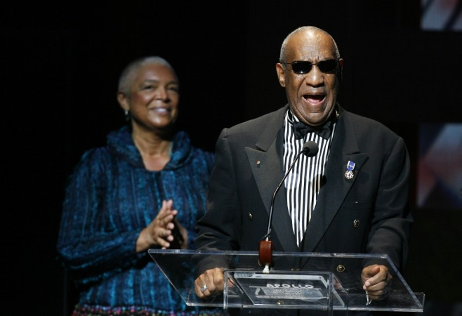 Bill Cosby with wife Camille