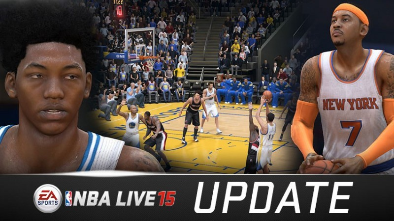 EA Sports rolls out NBA LIVE 15 Title Update #2