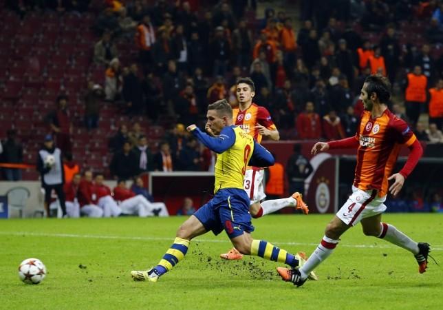 Lukas Podolski Arsenal Galatasaray