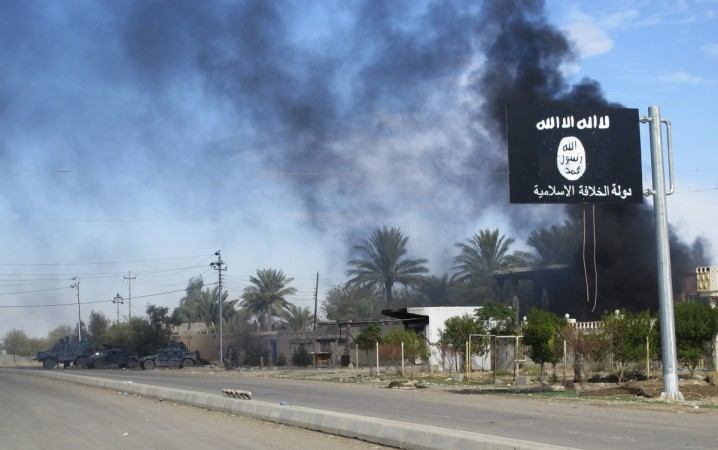Texas City plumber Mark Oberholtzer's truck was photographed in Syrian war