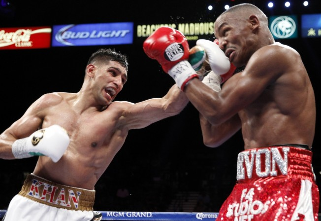 Amir Khan's shorts to be donated for rebuilding Peshawar massacre school