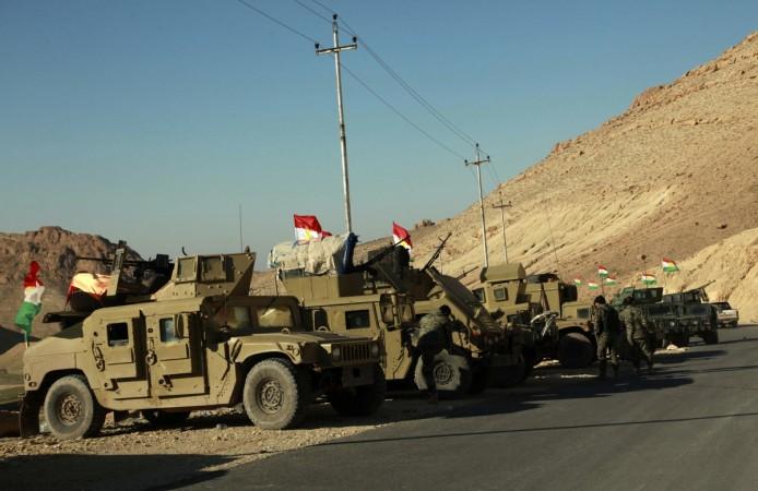 Kurd Iraqis drive IS militants out of Sinjar