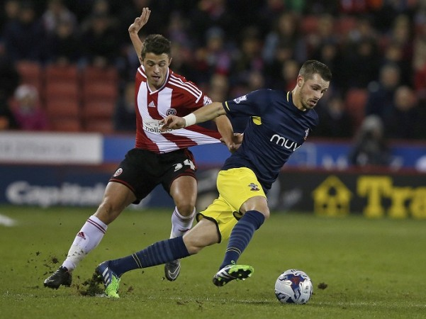 Sheffied United Florent Cuvelier Southampton Morgan Schneiderlin