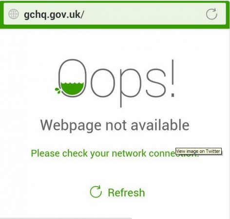 Cyber activists associated with Anonymous group has brought down British intelligence GCHQ's website and claimed North Korean's internet outage.
