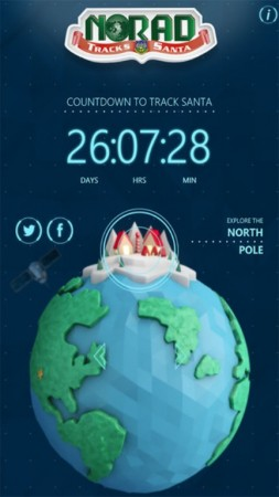 Santa Tracker 2014: NORAD and Google Earth Provide Live Stream Information of Where St. Nick is