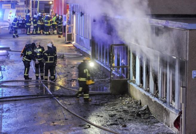 Sweden mosque attack