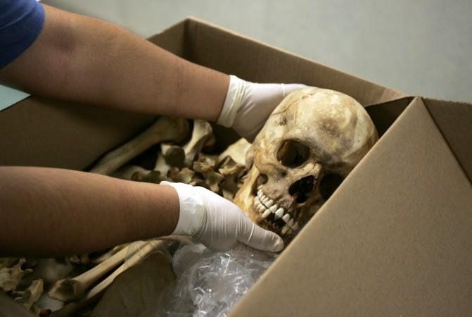 human skulls found in imphal
